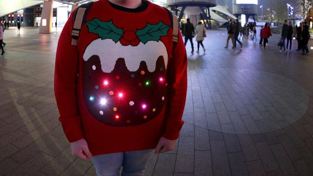 Dig out your festive jumpers for Text Santa