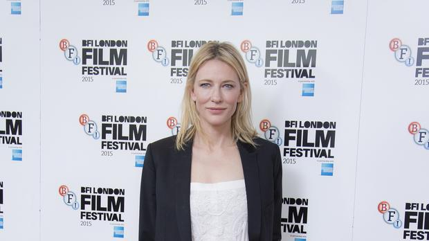 Actress Cate Blanchett is a two-time Oscar winner