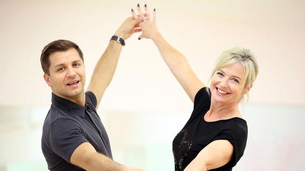 Carol Kirkwood and her professional partner Pasha Kovalev will be performing a Viennese waltz on Strictly Come Dancing