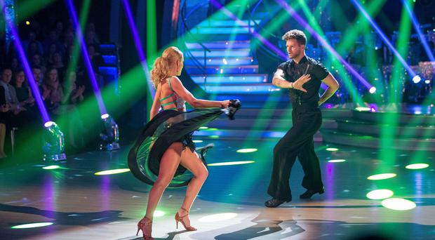 Jay McGuiness's pasodoble with partner Aliona Vilani scored a total of 33