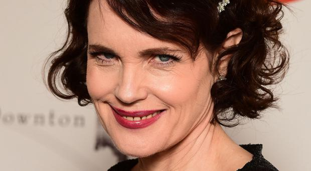 Downton Abbey star Elizabeth McGovern is playing a series of gigs with her own band, Sadie and the Hotheads