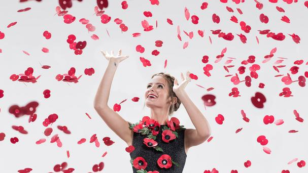 Millie Mackintosh is urging people to wear poppies for Remembrance Day