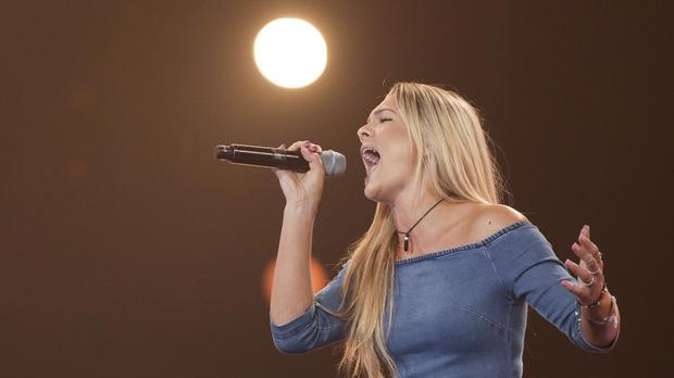 Louisa Johnson has made it through to the X Factor live shows (Syco/Thames TV/PA)
