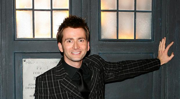David Tennant will feature as the Doctor in the audio series
