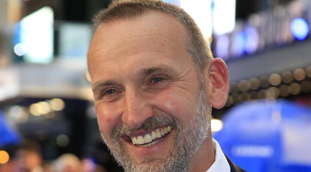 Christopher Eccleston said he was