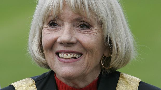 Dame Diana Rigg also said she is not a big fan of Jeremy Corbyn