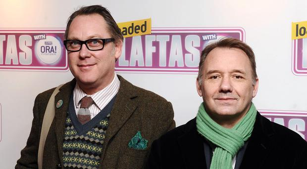 Vic Reeves and Bob Mortimer.