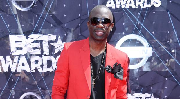 Sam Sarpong - pictured in Los Angeles in June - has jumped to his death from a bridge (AP)