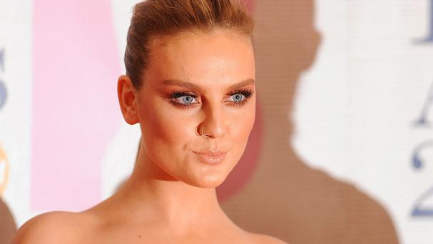 Perrie Edwards said it was a 'hard time' after splitting from Zayn Malik