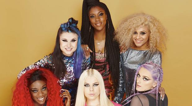 MANDATORY CREDIT REQUIRED: SYCO/THAMES TVUndated handout photo issued by ITV of X Factor finalists Alien Uncovered who were eliminated from this year's X Factor live heats.