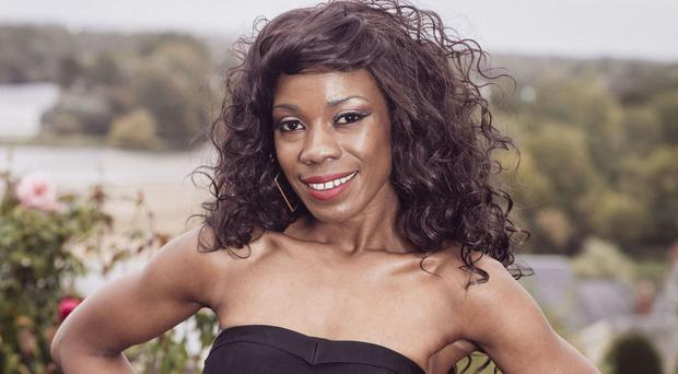 X Factor finalist Bupsi was the first act to be eliminated from this year's live heats (Syco/Thames TV/PA)