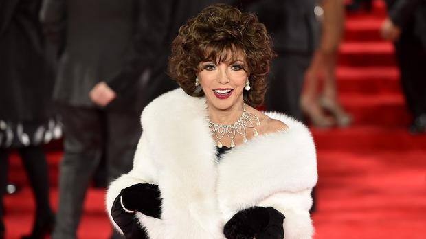 Dame Joan Collins says reality television is not her