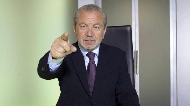 Lord Sugar in Apprentice triple firing