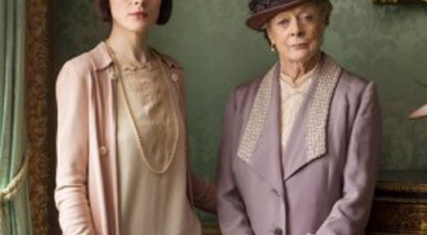 Show stars Dame Maggie Smyth and Michelle Dockery