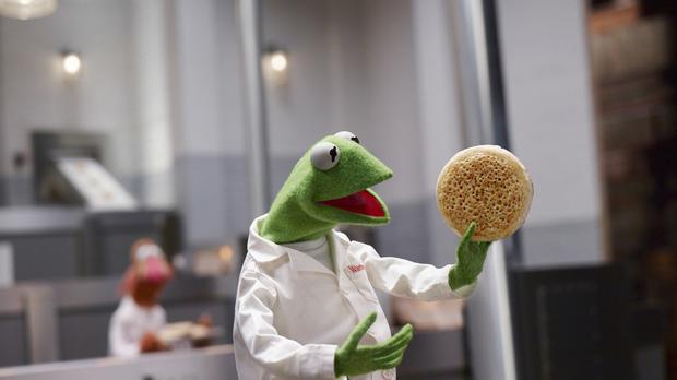 A new Warburtons advert features The Muppets (Warburtons/PA)