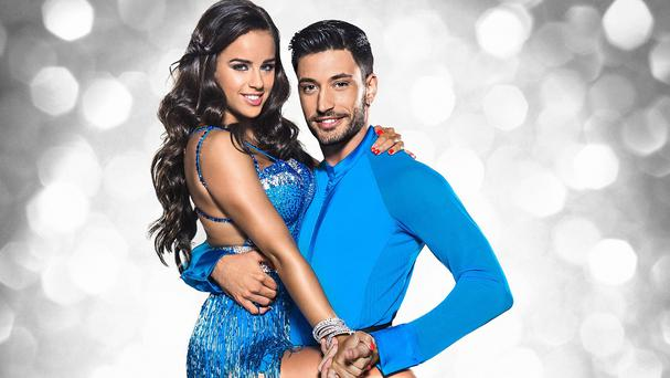 Georgia May Foote and Giovanni Pernice topped the leaderboard (BBC/PA)