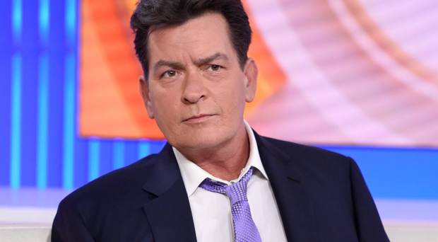 Former Two And A Half Men star Charlie Sheen on NBC's Today, where he announced he was HIV-positive