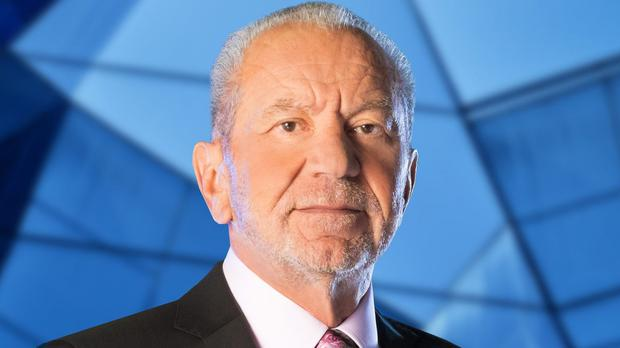 Lord Sugar arrives at the contestants' house with the latest Apprentice challenge (BBC)