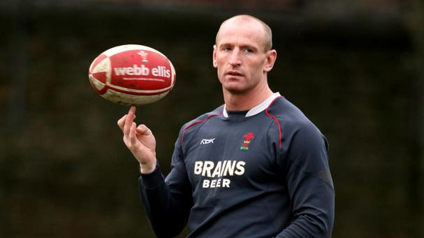Gareth Thomas is one of four sporting stars appearing in True Grit