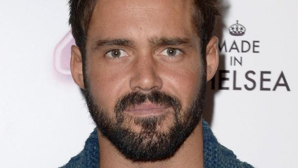 Spencer Matthews attends the Made in Chelsea series 10 premiere at the Ham Yard Hotel, London.