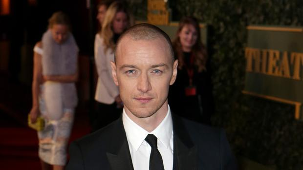 James McAvoy is in contention for an award