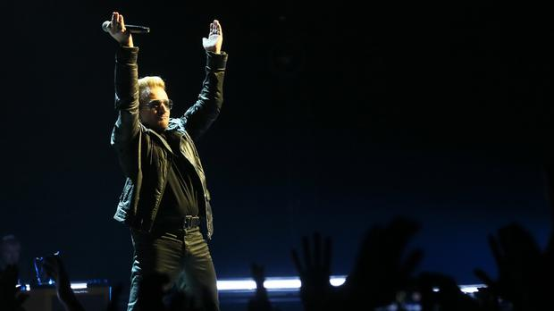 Bono is hoping to raise money for Aids research through a star-studded 'once-in-a-lifetime experience' drive