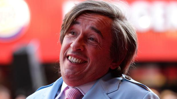 Alan Partridge (in real life, Steve Coogan) will co-host the TFI Friday Christmas comedy special with Chris Evans