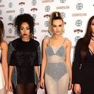 Little Mix arriving at the Cosmopolitan Ultimate Woman of the Year Awards at One Mayfair, London