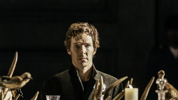 Benedict Cumberbatch's nod is one of nine for Hamlet