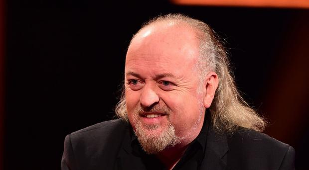 Bill Bailey said his tour bus was stolen while he was in Liverpool for a performance