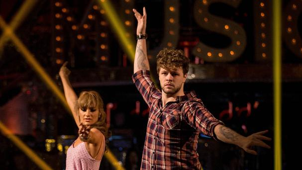 Jay McGuiness and Aliona Vilani topped the leaderboard (BBC/PA)