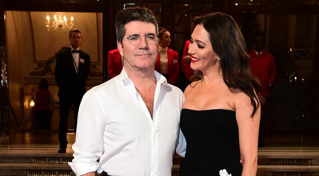 Simon Cowell with girlfriend Lauren Silverman