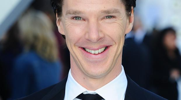 Benedict Cumberbatch promised to leave out extra port and mince pies for Father Christmas