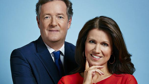 Good Morning Britain hosts Piers Morgan and Susanna Reid