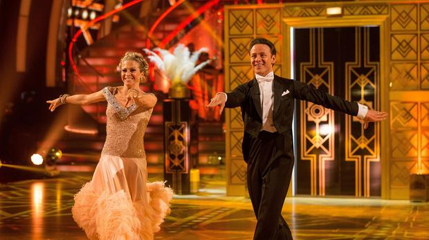 Kellie Bright and her partner Kevin Clifton topped the leaderboard