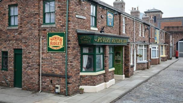 The prevalence of booze and soft drinks in the Rovers Return and other soap locations is