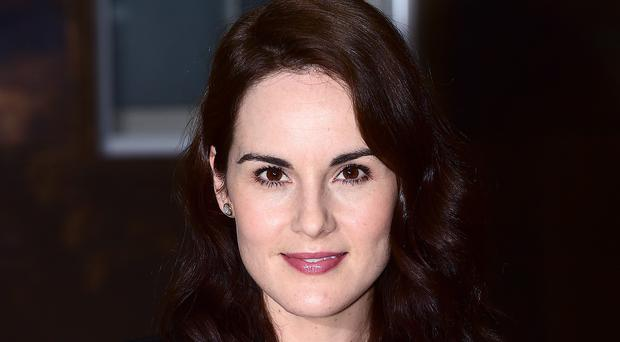 Michelle Dockery plays Lady Mary Crawley in the hit period drama