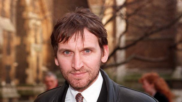 Actor Christopher Eccleston is divorcing his wife Mischka on the grounds of her 'unreasonable behaviour'