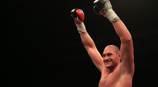 Tyson Fury beat Wladimir Klitschko to become a world heavyweight champion last month