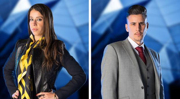 Vana Koutsomitis (left) and Joseph Valente survived interrogation by Lord Sugar's trusted advisers
