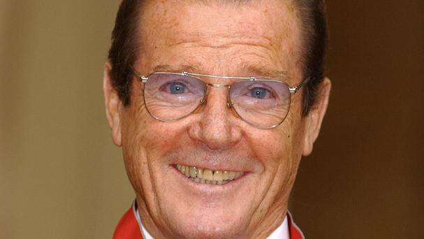 Ex-James Bond Sir Roger Moore named the Queen as his dream dinner date