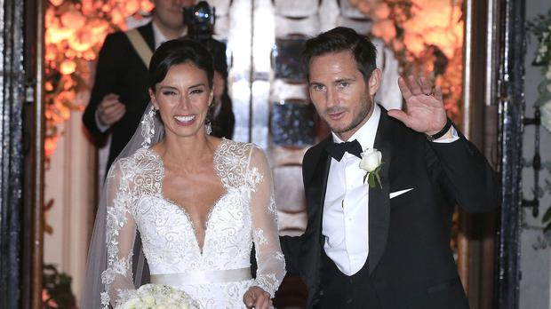 Christine Bleakley and Frank Lampard married at St Paul's Church in Knightsbridge, London