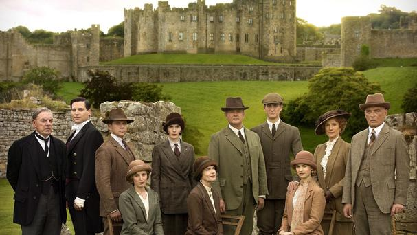 Downton Abbey's ratings have dropped each year since its first Christmas episode in 2011