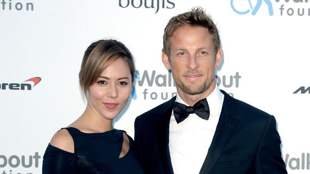 The marriage of Jenson Button and Jessica Michibata is over after just a year