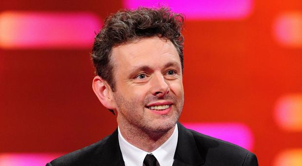 Michael Sheen visited patients at Neath Port Talbot Hospital