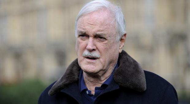 John Cleese is back as fraught Basil Fawlty in an ad for Specsavers