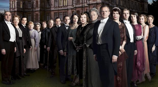The cast of Downton Abbey bowed out as the final episode of the hit TV show was broadcast on Christmas Day (ITV/PA)