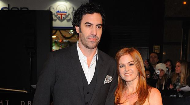 Sacha Baron Cohen and wife Isla Fisher have made a donation to help victims of the Syrian conflict