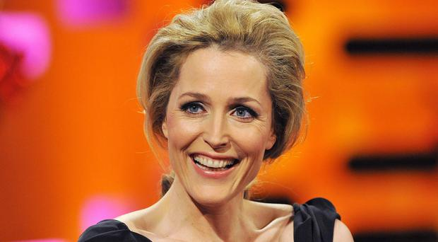 Gillian Anderson, who appears in the new series War And Peace, says she is not worried about being single
