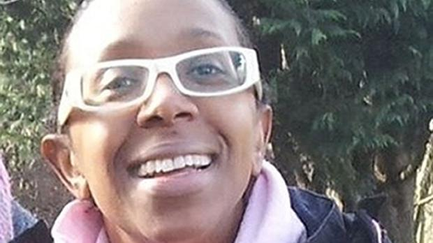 Sian Blake, 43, who went missing from Erith, Kent, with her children, Zachary, eight, and Amon, four.